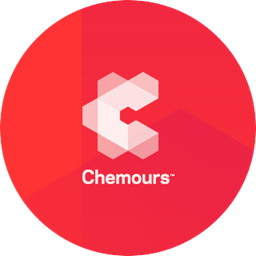 Chemours logo in a circle